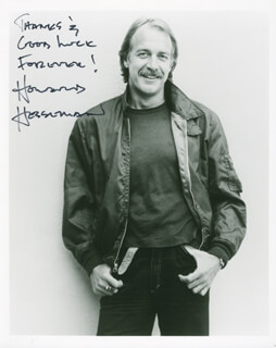 HOWARD HESSEMAN - AUTOGRAPHED INSCRIBED PHOTOGRAPH