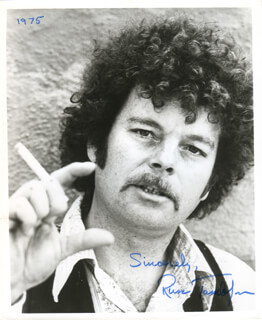 RUSS TAMBLYN - AUTOGRAPHED SIGNED PHOTOGRAPH 1975