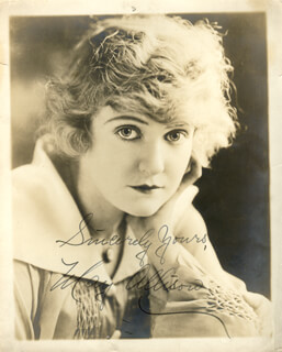 MAY ALLISON - AUTOGRAPHED SIGNED PHOTOGRAPH