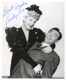 PINKY LEE - AUTOGRAPHED SIGNED PHOTOGRAPH