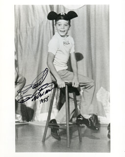 PAUL PETERSON - AUTOGRAPHED SIGNED PHOTOGRAPH