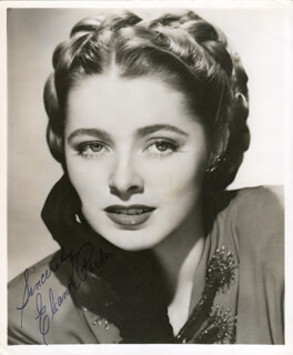 ELEANOR PARKER - AUTOGRAPHED SIGNED PHOTOGRAPH