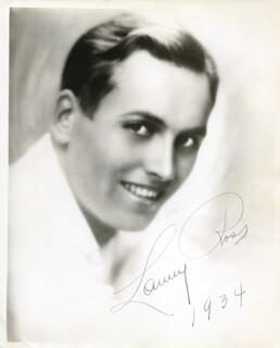 MAJOR LANNY ROSS - AUTOGRAPHED SIGNED PHOTOGRAPH 1934