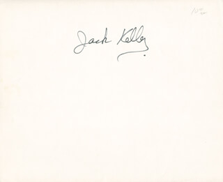 JACK KELLY - AUTOGRAPHED SIGNED PHOTOGRAPH