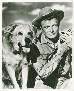 BRIAN KEITH - AUTOGRAPHED SIGNED PHOTOGRAPH