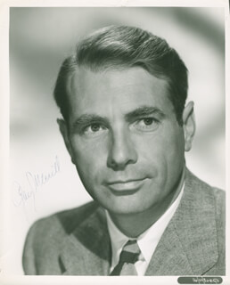 GARY MERRILL - AUTOGRAPHED SIGNED PHOTOGRAPH