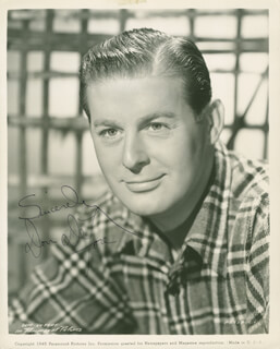 DON DEFORE - AUTOGRAPHED SIGNED PHOTOGRAPH