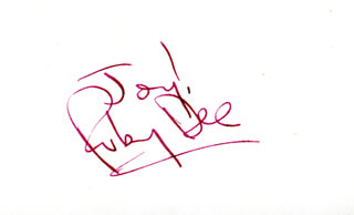 RUBY DEE - AUTOGRAPH SENTIMENT SIGNED