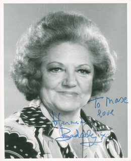 HERMIONE BADDELEY - AUTOGRAPHED INSCRIBED PHOTOGRAPH