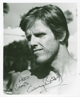 GARY BUSEY - AUTOGRAPHED INSCRIBED PHOTOGRAPH