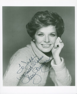 POLLY BERGEN - AUTOGRAPHED INSCRIBED PHOTOGRAPH