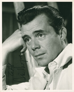 DIRK BOGARDE - AUTOGRAPHED INSCRIBED PHOTOGRAPH