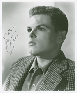 DICKIE MOORE - AUTOGRAPHED INSCRIBED PHOTOGRAPH 04/28