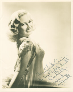 MARILYN MAXWELL - AUTOGRAPHED INSCRIBED PHOTOGRAPH