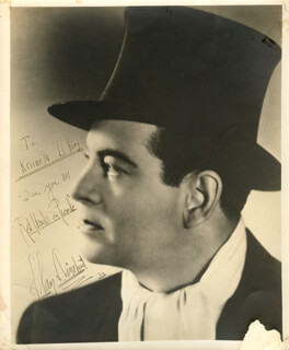 ALAN DINEHART - AUTOGRAPHED INSCRIBED PHOTOGRAPH 1935
