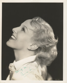 ANNA LEE - AUTOGRAPHED SIGNED PHOTOGRAPH