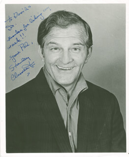 STANLEY CLEMENTS - AUTOGRAPHED INSCRIBED PHOTOGRAPH