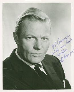 KURT KREUGER - AUTOGRAPHED INSCRIBED PHOTOGRAPH
