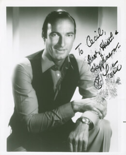 ED LAUTER - AUTOGRAPHED INSCRIBED PHOTOGRAPH
