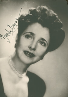 BEVERLY BAYNE - AUTOGRAPHED SIGNED PHOTOGRAPH