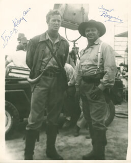 THE LAST COMMAND MOVIE CAST - AUTOGRAPHED SIGNED PHOTOGRAPH CO-SIGNED BY: ERNEST BORGNINE, STERLING HAYDEN