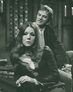 ABELARD AND HELOISE CAST - AUTOGRAPHED SIGNED PHOTOGRAPH CO-SIGNED BY: DIANA RIGG, KEITH MICHELL