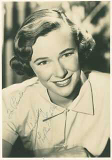 PHYLLIS THAXTER - AUTOGRAPHED INSCRIBED PHOTOGRAPH