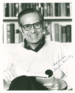 WALTER MIRISCH - AUTOGRAPHED SIGNED PHOTOGRAPH