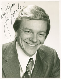 JIM HARTZ - AUTOGRAPHED SIGNED PHOTOGRAPH