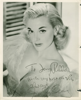 JAN STERLING - AUTOGRAPHED INSCRIBED PHOTOGRAPH