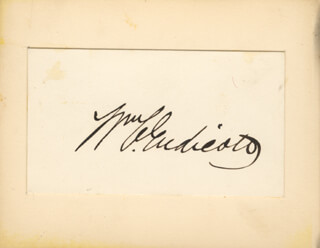 WILLIAM C. ENDICOTT - AUTOGRAPH