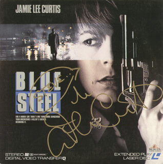 JAMIE LEE CURTIS - LASER MEDIA COVER SIGNED