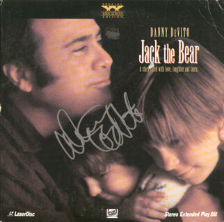 DANNY DEVITO - LASER MEDIA COVER SIGNED