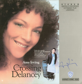 AMY IRVING - LASER MEDIA COVER SIGNED