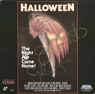 Halloween Movie Cast Autographs 278759
