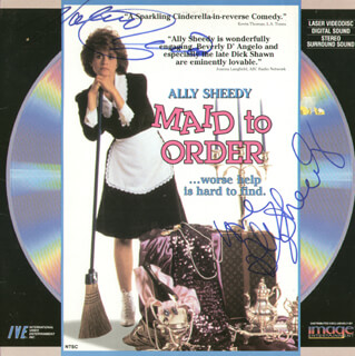ALLY SHEEDY - LASER MEDIA COVER SIGNED