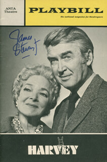 JAMES JIMMY STEWART - SHOW BILL SIGNED