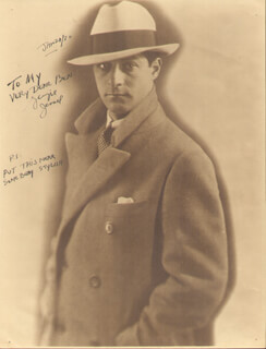 GEORGE JESSEL - AUTOGRAPHED INSCRIBED PHOTOGRAPH 01/30/1930