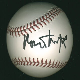 ROBERT REDFORD - AUTOGRAPHED SIGNED BASEBALL