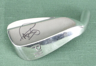 Autographs: PAUL AZINGER - GOLF CLUB HEAD SIGNED