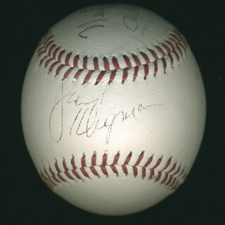 THE ODD COUPLE TV CAST - AUTOGRAPHED SIGNED BASEBALL 01/19/1997 CO-SIGNED BY: NEIL DOC SIMON, GARRY MARSHALL, JACK KLUGMAN, TONY RANDALL