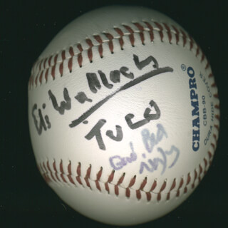ELI WALLACH - AUTOGRAPHED SIGNED BASEBALL