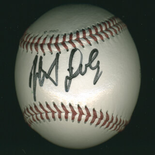 THE MONKEES (MICKEY DOLENZ) - AUTOGRAPHED SIGNED BASEBALL CIRCA 2002