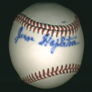 JEAN STAPLETON - AUTOGRAPHED SIGNED BASEBALL