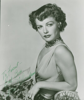 ANN THE OOMPH GIRL SHERIDAN - AUTOGRAPHED INSCRIBED PHOTOGRAPH