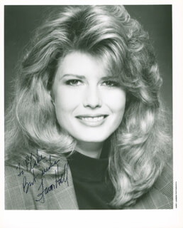 FAWN HALL - AUTOGRAPHED INSCRIBED PHOTOGRAPH