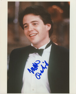 MATTHEW BRODERICK - AUTOGRAPHED SIGNED PHOTOGRAPH