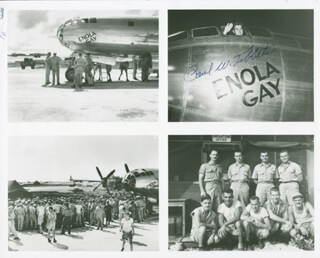 ENOLA GAY CREW (PAUL W. TIBBETS) - COMPOSITE PHOTOGRAPH SIGNED