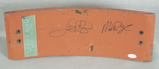 LARRY BIRD - EPHEMERA SIGNED CO-SIGNED BY: EARVIN MAGIC JOHNSON