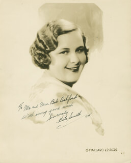 KATE SMITH - AUTOGRAPHED INSCRIBED PHOTOGRAPH 1933